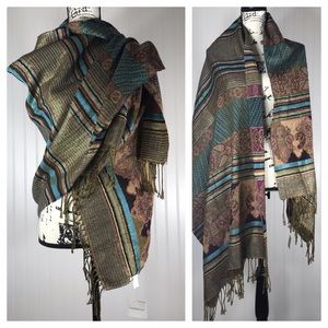 Croft & Barrow Blanket Scarf - Southwest Colors